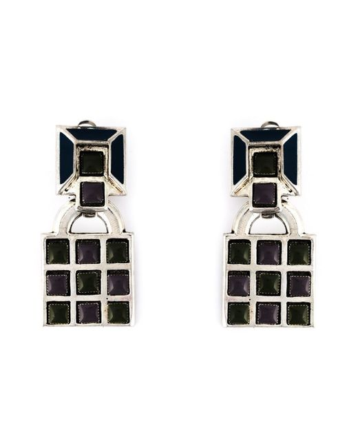 Jean Paul Gaultier | Black Gaudi Clip-on Earrings | Lyst