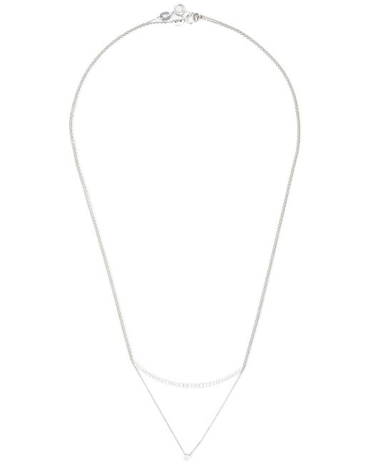 Wouters & Hendrix | Metallic Layered Diamond Necklace | Lyst