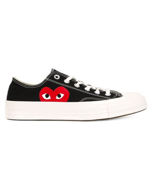 Comme des Garçons | Red Play X Converse Chuck Taylor Low Top Sneaker | Lyst