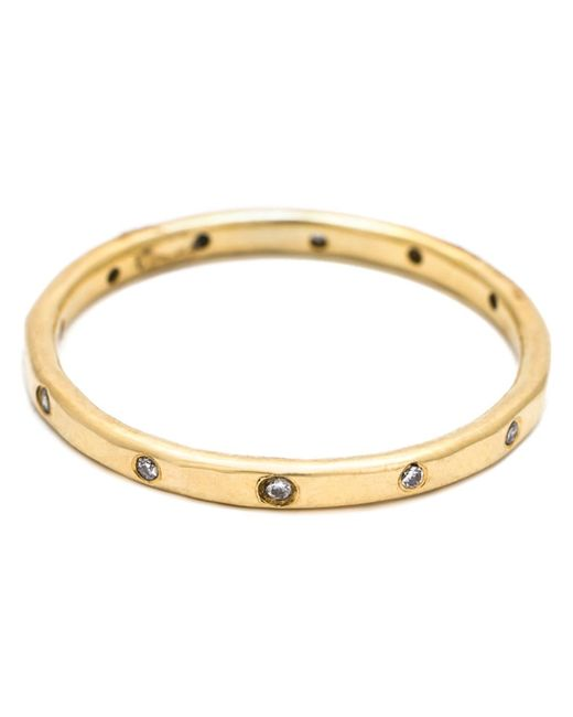Melissa Joy Manning | Metallic Diamond Band Ring | Lyst