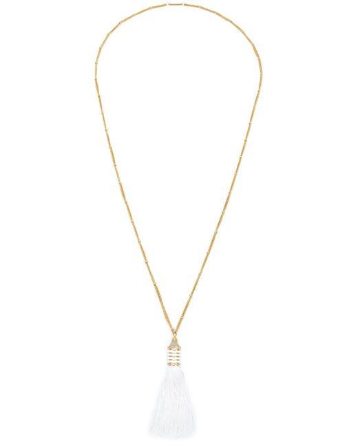 Eddie Borgo | Metallic Tassel Pendant Necklace | Lyst