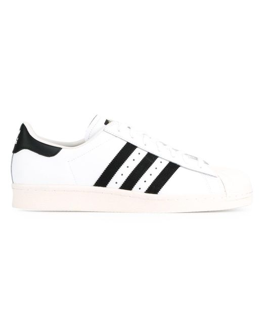 Adidas Originals | White 'superstar 80's' Sneakers for Men | Lyst