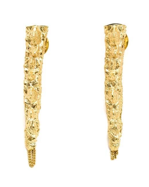 Henson | Metallic Spine Earrings | Lyst