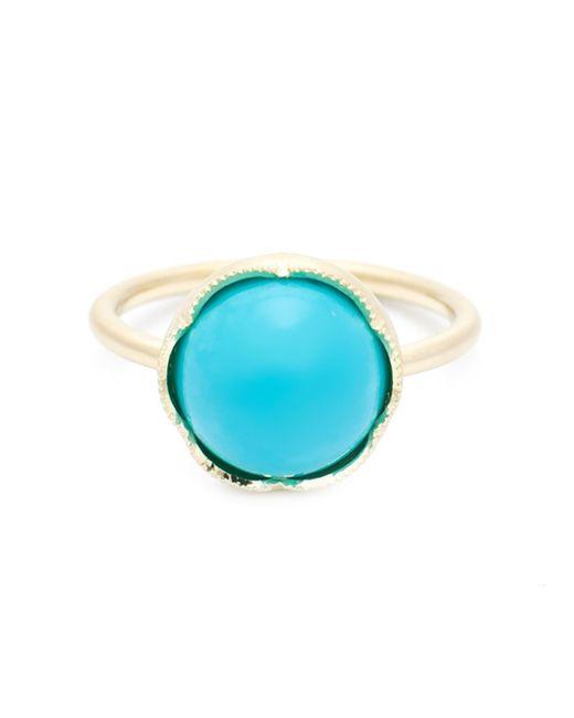 Irene Neuwirth | Metallic Round Turquoise Ring | Lyst