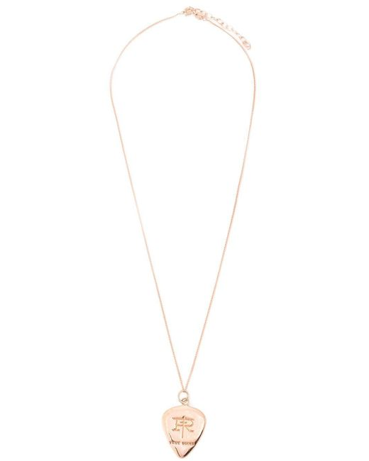 True Rocks | Metallic 'plectrum' Necklace | Lyst