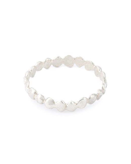 Natasha Collis | Metallic 'eternity' Ring | Lyst