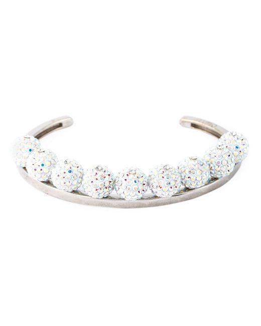 Ca&Lou | Metallic Pavé Ball Bracelet | Lyst