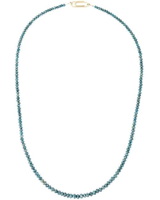 Uzerai Edits   Green String Diamond Necklace   Lyst