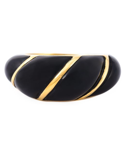 Aurelie Bidermann | Metallic 'diana' Twisted Ring | Lyst