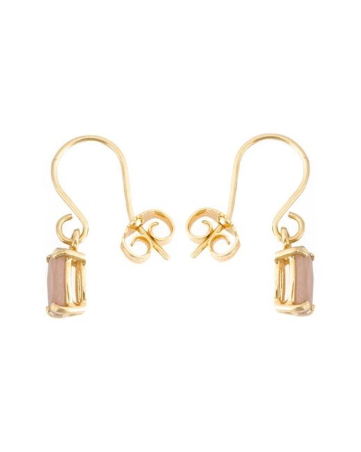 Wouters & Hendrix | Metallic 'playfully Precious' Moonstone Earrings | Lyst
