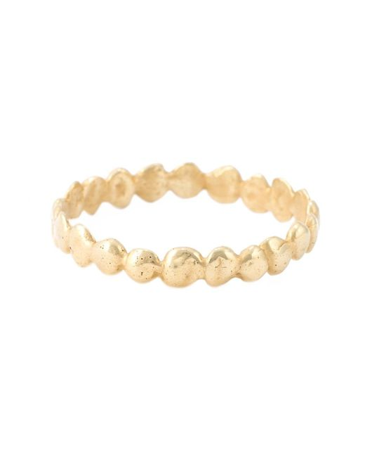 Natasha Collis | Metallic Small 'eternity Nugget' Ring | Lyst