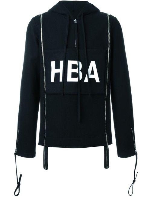 Hood By Air | Black Hba Print Hoodie for Men | Lyst