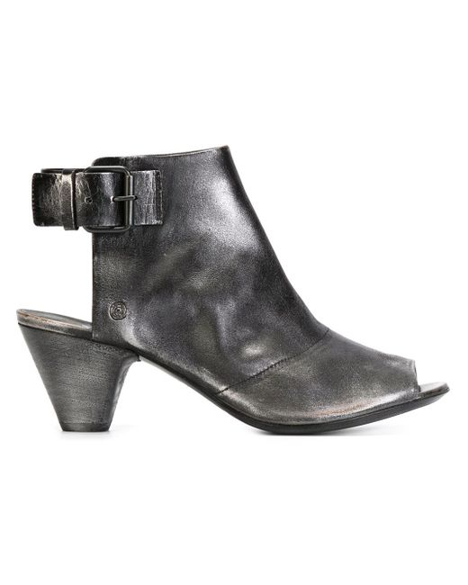 Marsèll | Black Marsèll Open Toe Booties | Lyst