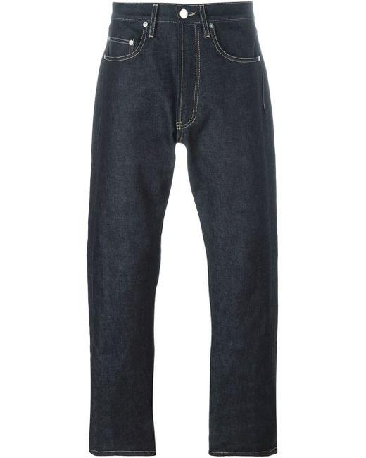 e tautz loose fit jeans in blue for men lyst. Black Bedroom Furniture Sets. Home Design Ideas