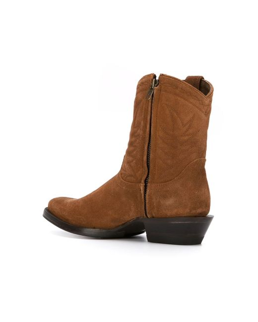 ash taxana boots in brown lyst