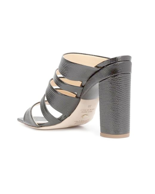 Only US, buy 41 strappy letters embellished high heel mules shoes black at online womens slippers shop, metools.ml Fashion Pioneer with more than different style of clothes lower than average market price, offering Great customer service and shopping experience.