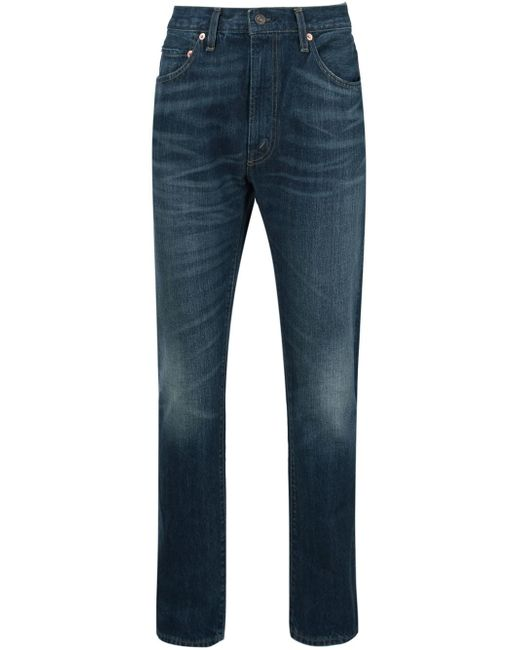 Levi's | Blue Levi's 501 Original Selvedge Jeans Heavy Wood Mid Used for Men | Lyst