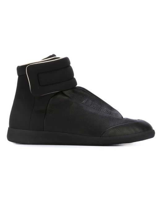 Maison Margiela | Natural Future Leather High-Top Sneakers | Lyst
