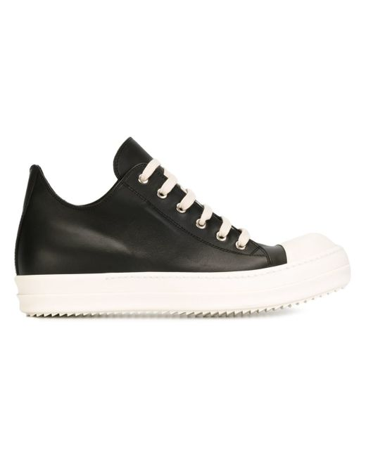 Rick Owens | Black Lace-up Sneakers for Men | Lyst