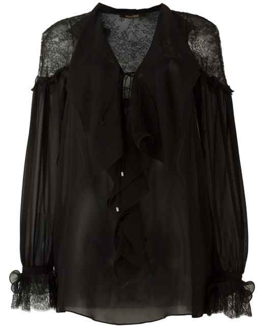 Roberto Cavalli | Black Roberto Cavalli - Long Sleeve Shirts | Lyst