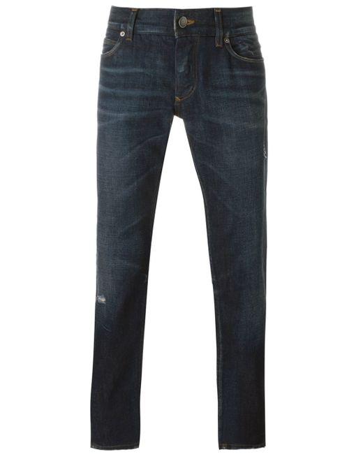 Dolce & Gabbana | Blue Straight-leg Jeans for Men | Lyst