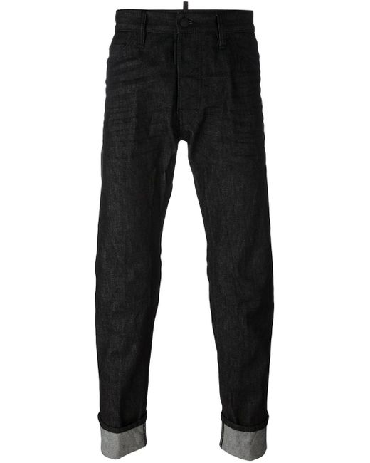 DSquared² | Black - 'cool Guy' Jeans - Men - Cotton/polyester - 46 for Men | Lyst