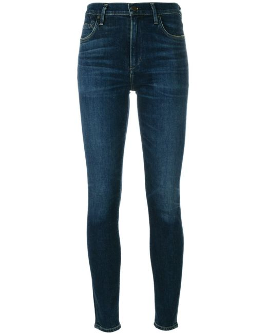 Citizens of Humanity | Blue Skinny Jeans | Lyst