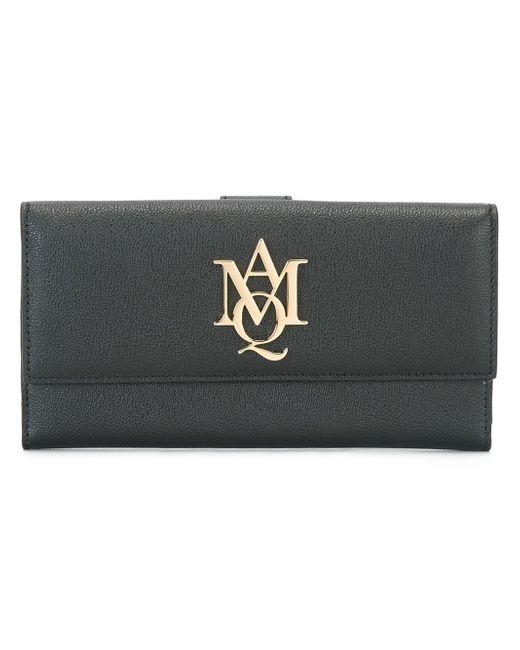 Alexander mcqueen Insignia Wallet in Multicolor (BLACK)