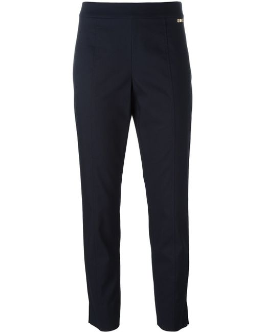 Tory Burch | Blue Straight Trousers | Lyst