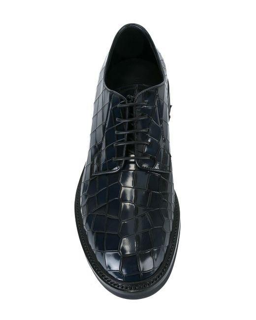 Armani Croc Mens Shoes