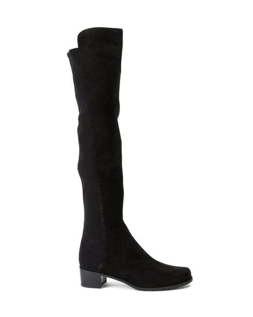 Stuart Weitzman | Black 'reserve' Boots | Lyst