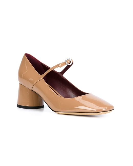 Marc jacobs Mary Jane Pumps in Natural (NUDE & NEUTRALS ...