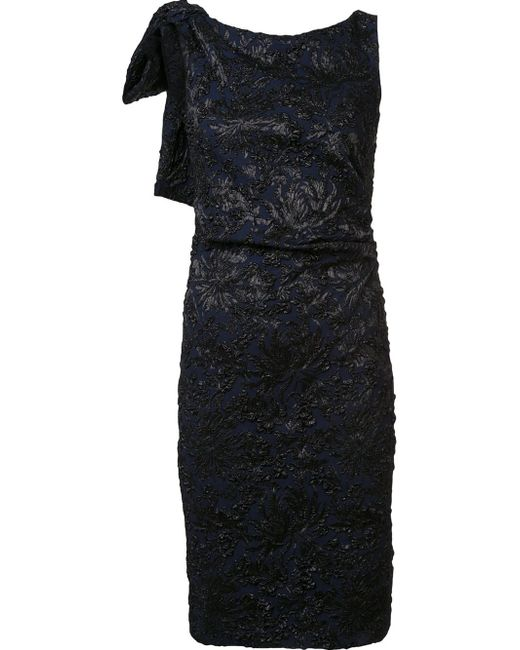Carolina Herrera | Black Ikat Sequin Gown | Lyst