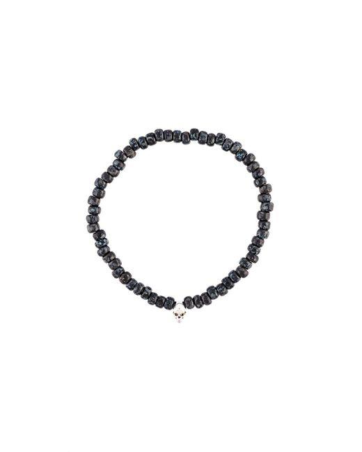 Luis Morais | Black 'skull' Bracelet for Men | Lyst