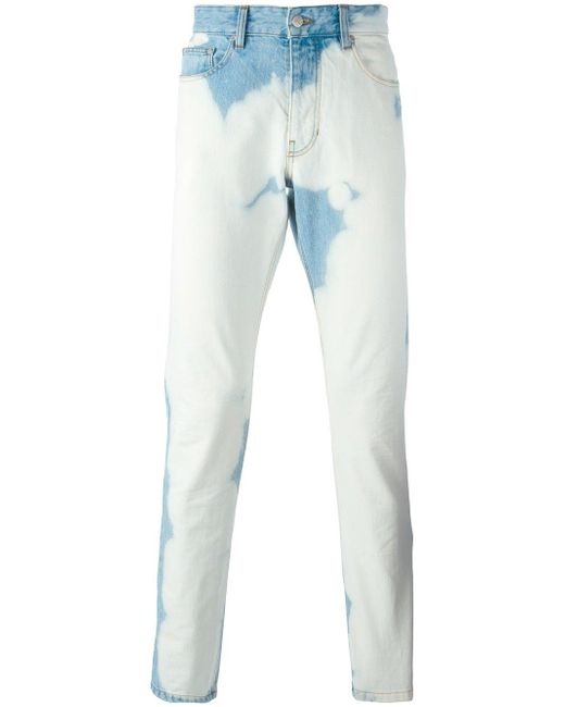 AMI | Blue Ami Fit Jeans for Men | Lyst