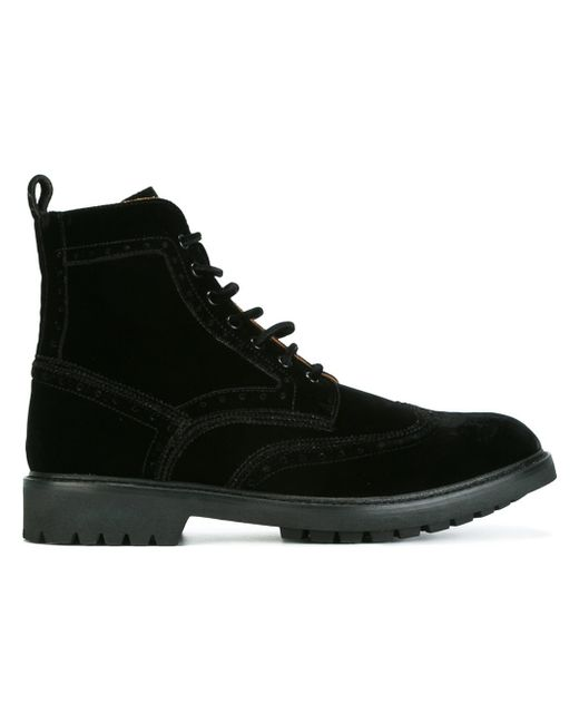 Givenchy Commando Ankle Boots In Black For Men Lyst