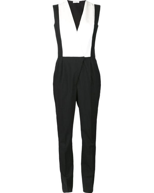 Vionnet   Black Overall Style Jumpsuit   Lyst