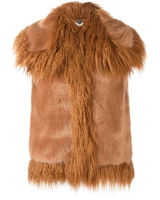 Womens Faux Fur Lamb Vest Mongolian Fur Gilet Wool Mid-Long Colorful Coat PARKA. AU $ Was: Via Spiga Designer Women's Faux Fur Brown Racoon Vest Size XL 16/18 Nordstrom. AU $ Free postage. Lauren Ralph Lauren Women's Vest M Medium Winter Cream Ivory Faux Fur .