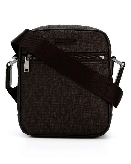 Michael Kors | Brown Jet Set Small Logo Flight Bag for Men | Lyst