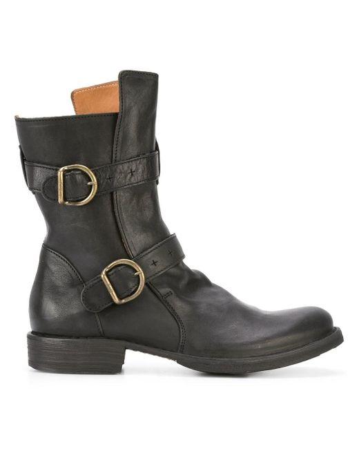 fiorentini baker 39 eternity 713 39 boots in black lyst. Black Bedroom Furniture Sets. Home Design Ideas