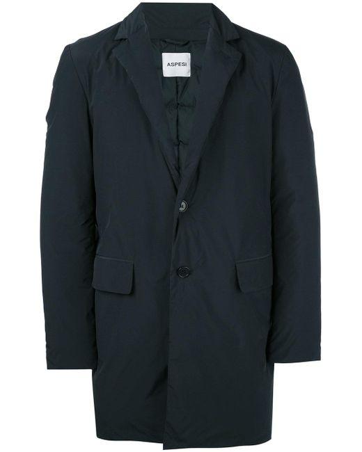 Aspesi | Blue Millennium Coat for Men | Lyst