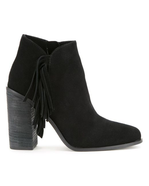 Senso | Black 'quillon' Boots | Lyst