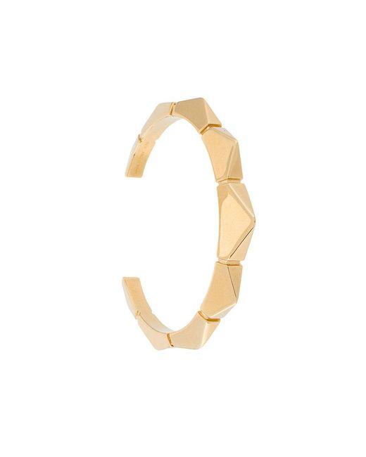 Chloé | Metallic Geometric Bracelet Cuff | Lyst