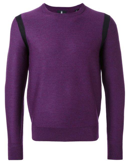 Kent & Curwen | Purple Contrast Trim Slim-fit Jumper for Men | Lyst