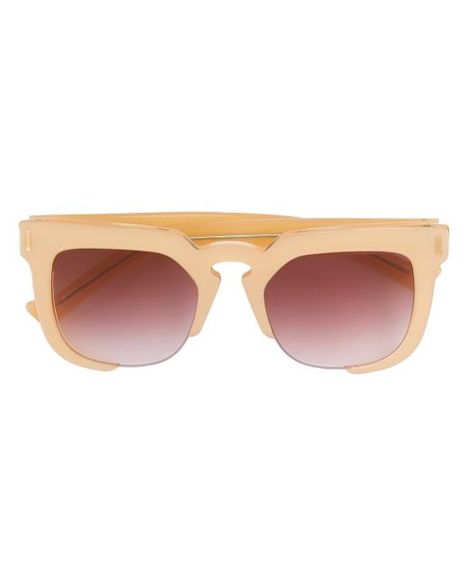 Grey Ant | Multicolor 'temple' Sunglasses | Lyst