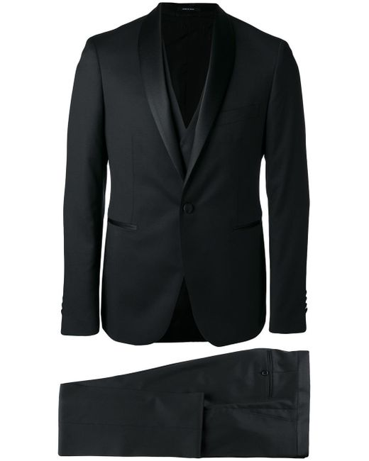 Tagliatore | Black Two Piece Suit for Men | Lyst