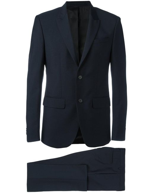 Givenchy | Blue - Two Piece Suit - Men - Cotton/acetate/cupro/wool - 48 for Men | Lyst