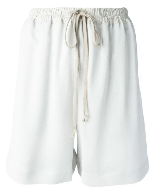 Rick Owens | Gray Loose-fit Shorts | Lyst