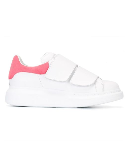 Alexander McQueen | White Extended Sole Sneakers | Lyst