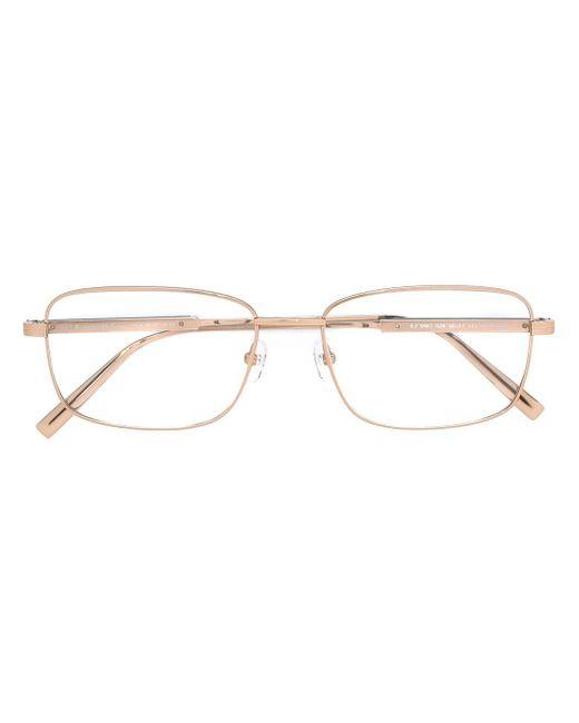 Ermenegildo Zegna | Metallic Square Frame Glasses for Men | Lyst